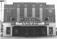 The front of the State Theatre